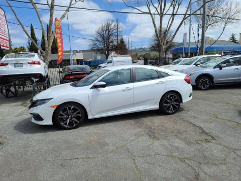 2020 Honda Civic for sale at Imports Auto Sales & Service in San Leandro CA