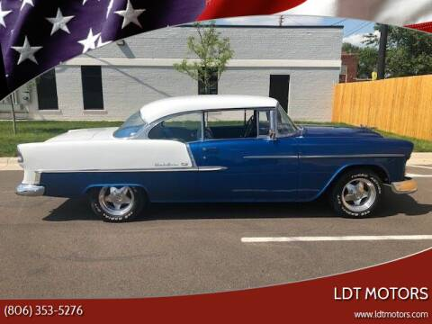 1955 Chevrolet Bel Air for sale at LDT MOTORS in Amarillo TX