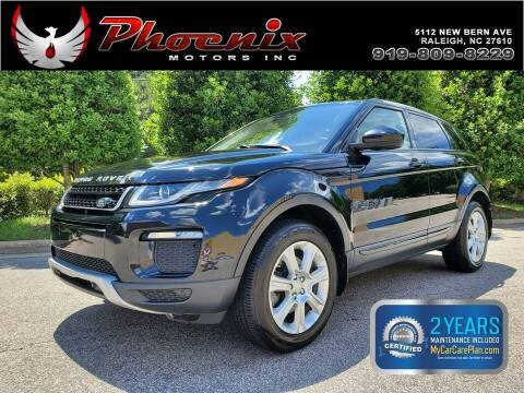 2016 Land Rover Range Rover Evoque for sale at Phoenix Motors Inc in Raleigh NC