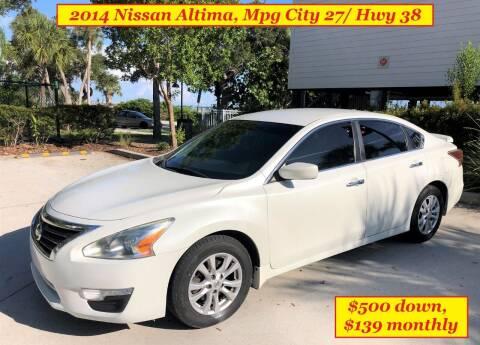 2014 Nissan Altima for sale at SIMON & DAVID AUTO SALE in Port Charlotte FL