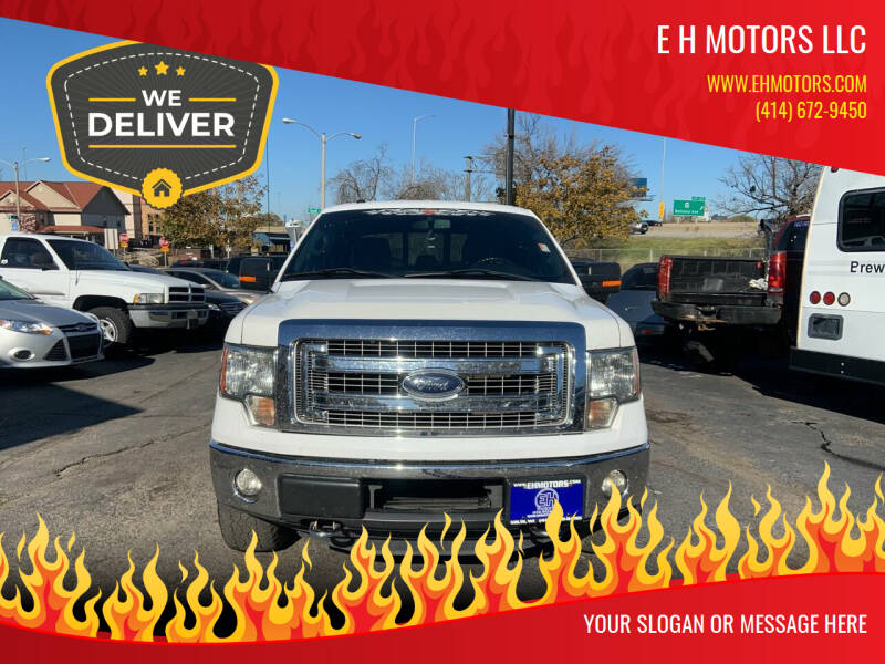 2013 Ford F-150 for sale at E H Motors LLC in Milwaukee WI