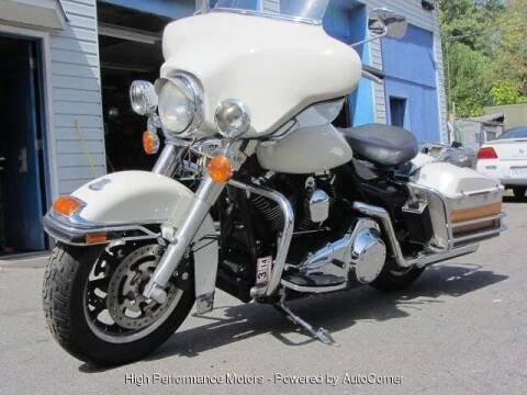 2008 Harley Davidson FLHTPI for sale at High Performance Motors in Nokesville VA