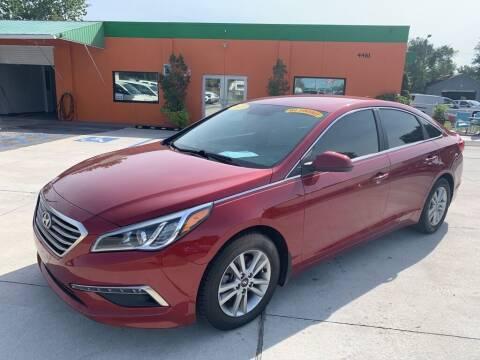 2015 Hyundai Sonata for sale at Galaxy Auto Service, Inc. in Orlando FL