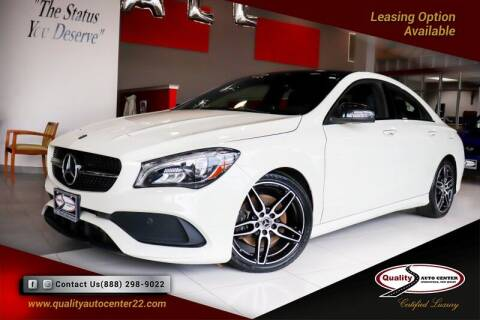 2018 Mercedes-Benz CLA for sale at Quality Auto Center in Springfield NJ