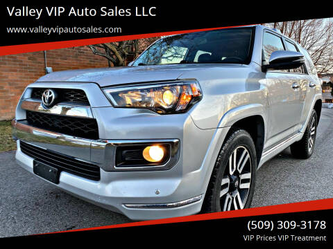 2016 Toyota 4Runner for sale at Valley VIP Auto Sales LLC in Spokane Valley WA