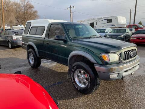 2002 Toyota Tacoma for sale at AFFORDABLY PRICED CARS LLC in Mountain Home ID