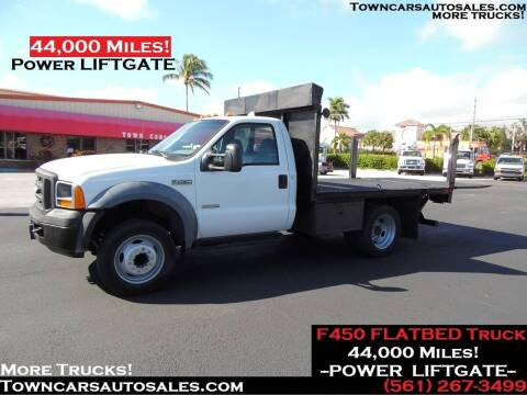2005 Ford F-450 Super Duty for sale at Town Cars Auto Sales in West Palm Beach FL