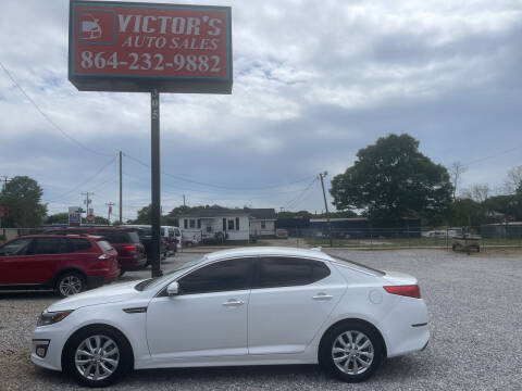 2015 Kia Optima for sale at Victor's Auto Sales in Greenville SC