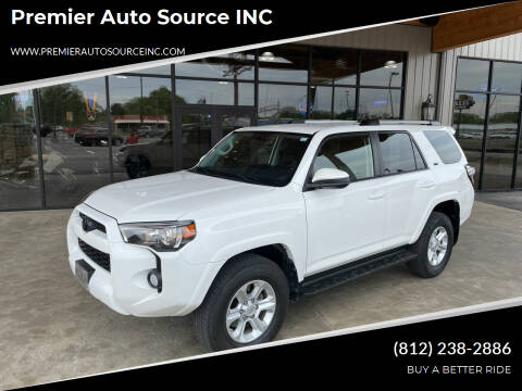 2019 Toyota 4Runner for sale at Premier Auto Source INC in Terre Haute IN