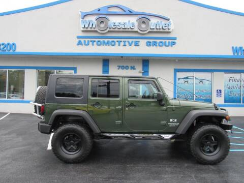 2008 Jeep Wrangler Unlimited for sale at The Wholesale Outlet in Blackwood NJ