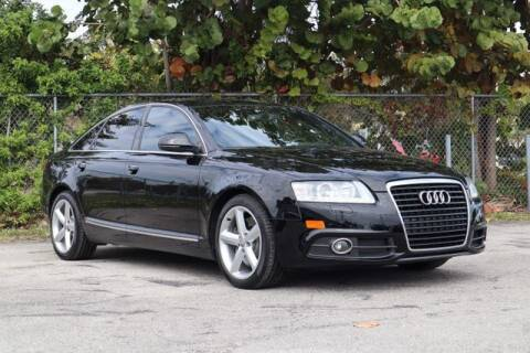 2011 Audi A6 for sale at No 1 Auto Sales in Hollywood FL