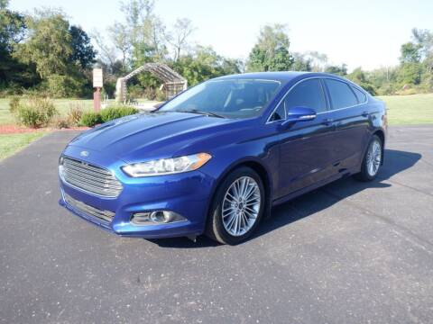 2015 Ford Fusion for sale at MIKES AUTO CENTER in Lexington OH