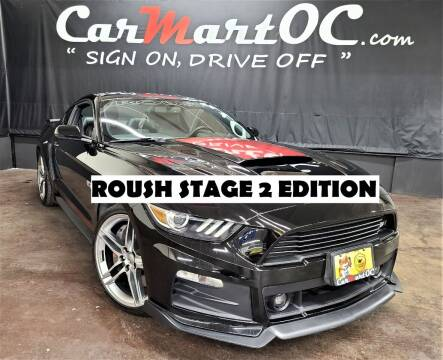 2015 Ford Mustang for sale at CarMart OC in Costa Mesa, Orange County CA