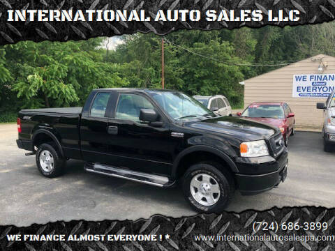 2006 Ford F-150 for sale at INTERNATIONAL AUTO SALES LLC in Latrobe PA
