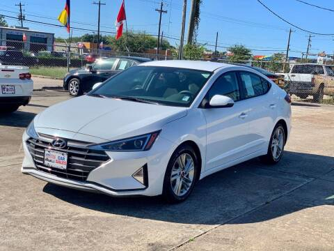 2020 Hyundai Elantra for sale at USA Car Sales in Houston TX