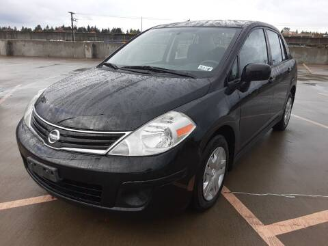 2010 Nissan Versa for sale at METROPOLITAN MOTORS in Kirkland WA