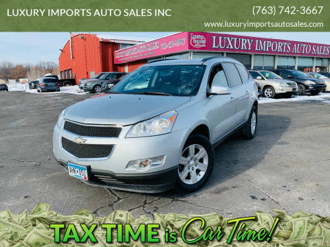 2011 Chevrolet Traverse for sale at LUXURY IMPORTS AUTO SALES INC in North Branch MN