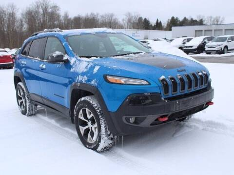 2018 Jeep Cherokee for sale at Street Track n Trail - Vehicles in Conneaut Lake PA