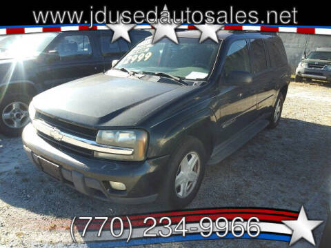 2003 Chevrolet TrailBlazer for sale at J D USED AUTO SALES INC in Doraville GA