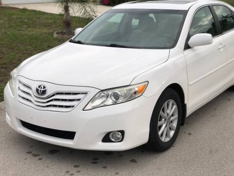 2011 Toyota Camry for sale at Internet Motorcars LLC in Fort Myers FL