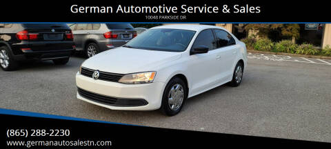 2014 Volkswagen Jetta for sale at German Automotive Service & Sales in Knoxville TN