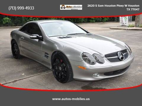 2005 Mercedes-Benz SL-Class for sale at AUTOS-MOBILES in Houston TX