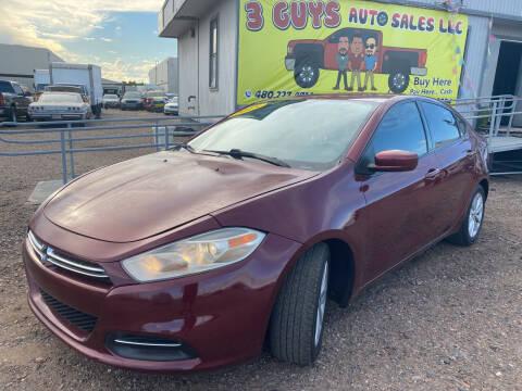 2015 Dodge Dart for sale at 3 Guys Auto Sales LLC in Phoenix AZ