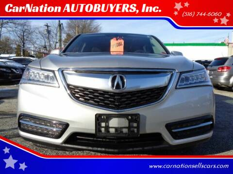 2015 Acura MDX for sale at CarNation AUTOBUYERS Inc. in Rockville Centre NY