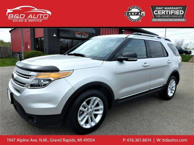 2013 Ford Explorer for sale at B&D Auto Sales Inc in Grand Rapids MI