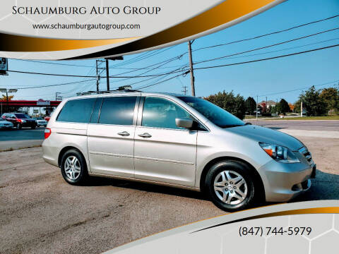 2007 Honda Odyssey for sale at Schaumburg Auto Group in Schaumburg IL