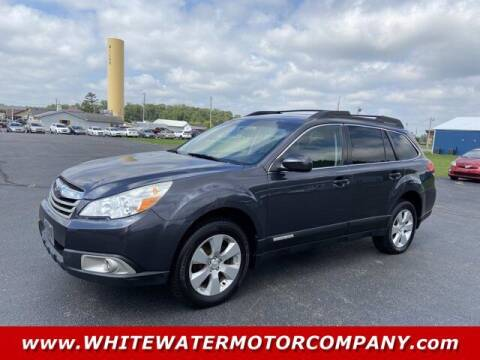 2012 Subaru Outback for sale at WHITEWATER MOTOR CO in Milan IN