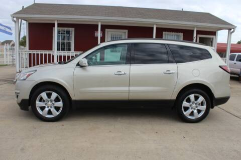 2016 Chevrolet Traverse for sale at AMT AUTO SALES LLC in Houston TX