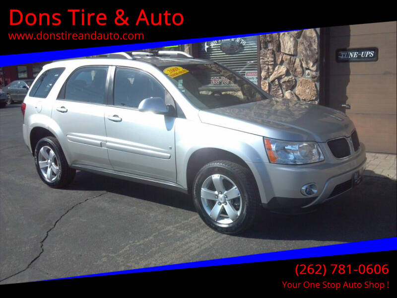 2008 Pontiac Torrent for sale at Dons Tire & Auto in Butler WI