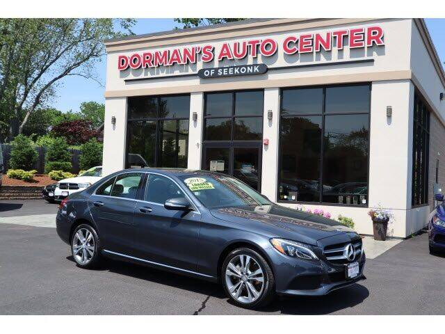 2015 Mercedes-Benz C-Class for sale at DORMANS AUTO CENTER OF SEEKONK in Seekonk MA
