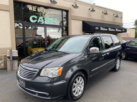 2011 Chrysler Town and Country for sale at Wilson-Maturo Motors in New Haven CT