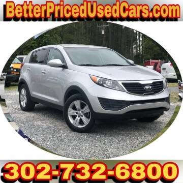 2013 Kia Sportage for sale at Better Priced Used Cars in Frankford DE