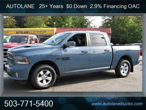 2015 RAM Ram Pickup 1500 for sale at Auto Lane in Portland OR