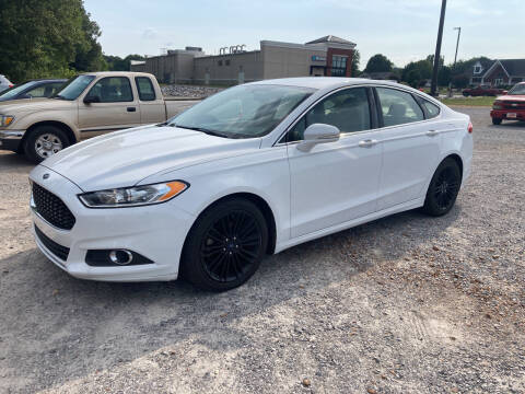 2016 Ford Fusion for sale at McCully's Automotive in Benton KY