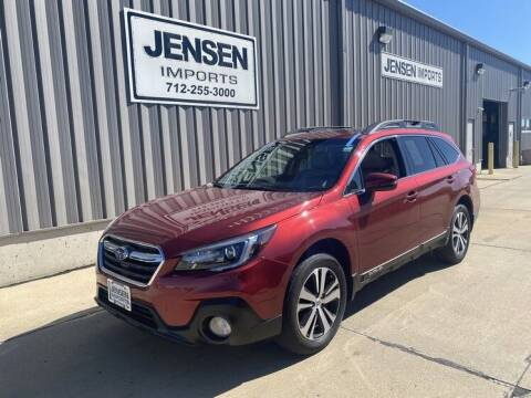 2019 Subaru Outback for sale at Jensen's Dealerships in Sioux City IA