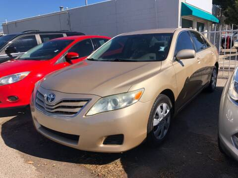 2011 Toyota Camry for sale at Top Gun Auto Sales, LLC in Albuquerque NM