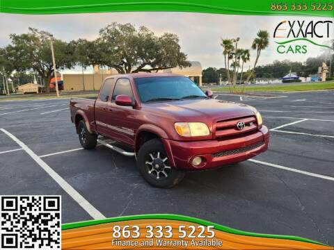 2006 Toyota Tundra for sale at Exxact Cars in Lakeland FL