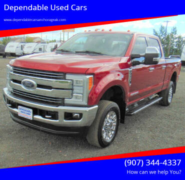2017 Ford F-250 Super Duty for sale at Dependable Used Cars in Anchorage AK