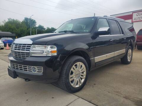 2014 Lincoln Navigator L for sale at Quallys Auto Sales in Olathe KS