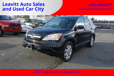 2009 Honda CR-V for sale at Leavitt Auto Sales and Used Car City in Everett WA