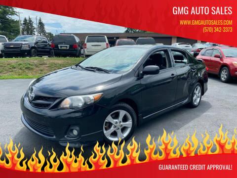 2011 Toyota Corolla for sale at GMG AUTO SALES in Scranton PA