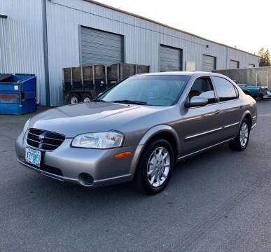 2001 Nissan Maxima for sale at DASH AUTO SALES LLC in Salem OR