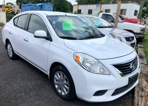 2012 Nissan Versa for sale at Mayer Motors of Pennsburg in Pennsburg PA