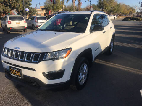 2017 Jeep Compass for sale at Soledad Auto Sales in Soledad CA