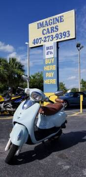 2012 Peace Sport 49.5cc for sale at IMAGINE CARS and MOTORCYCLES in Orlando FL