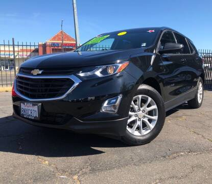 2018 Chevrolet Equinox for sale at LUGO AUTO GROUP in Sacramento CA
